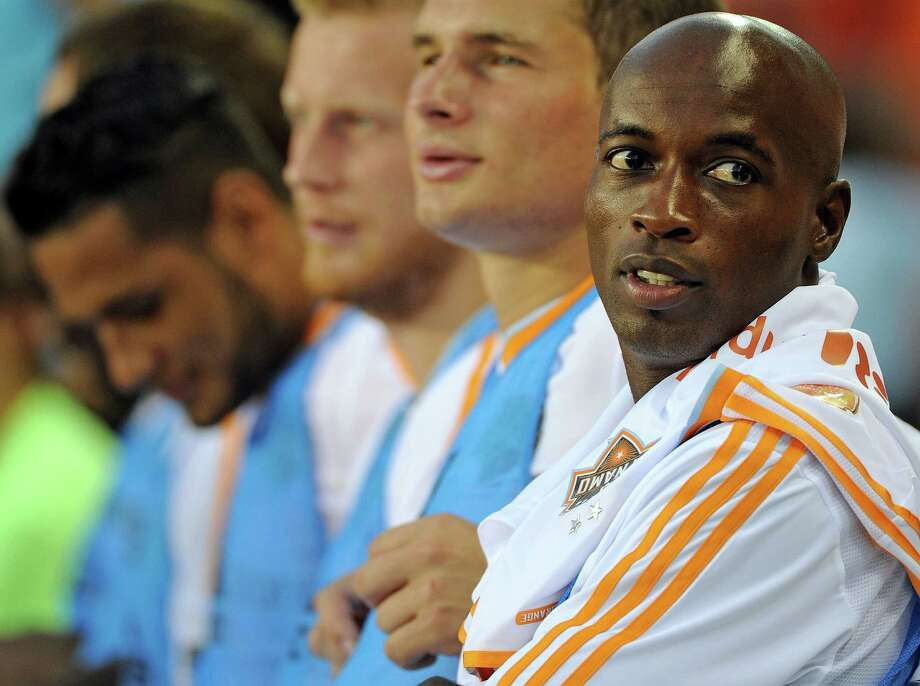 Defender DaMarcus Beasley will try to help the Dynamo end an eight-game winless streak when he takes the pitch for his new team tonight. Photo: Eric Christian Smith, Freelance / Eric Christian Smith