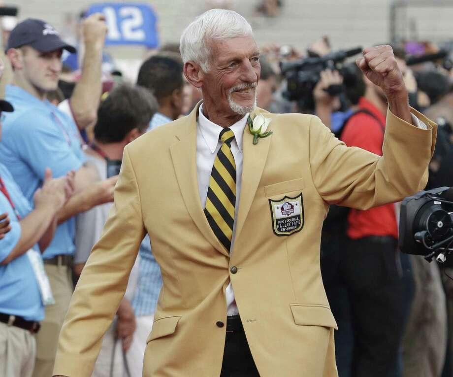 "Ray Guy on Saturday became the first full-time punter to be inducted into the Pro Football Hall of Fame. ""It's been long, long overdue, but now the Hall of Fame has a complete team,"" he said. Photo: Tony Dejak / Associated Press / AP"