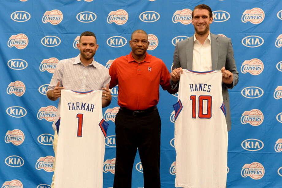 Los Angeles Clippers Additions: Jordan Farmar (Los Angeles Lakers), Spencer Hawes (Cleveland), C.J. Wilcox (rookie) Subtractions: Darren Collison (Sacramento), Danny Granger (Miami), Willie Green (Orlando). Net result: The Clippers already had a talented group with Chris Paul, Blake Griffin and DeAndre Jordan leading the way. Now they have two more players in the mix with newly signed Spencer Hawes and Jordan Framar, making them even deeper and solidifying their status in the West as contenders. Photo: Andrew D. Bernstein, NBAE/Getty Images / 2014 NBAE
