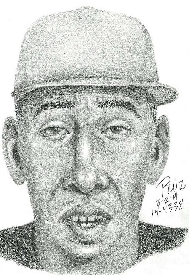 The Palo Alto Police Department released this sketch of a suspect involved with a Aug. 1 indecent exposure incident at the Seale Park in Palo Alto. Photo: Palo Alto Police Department