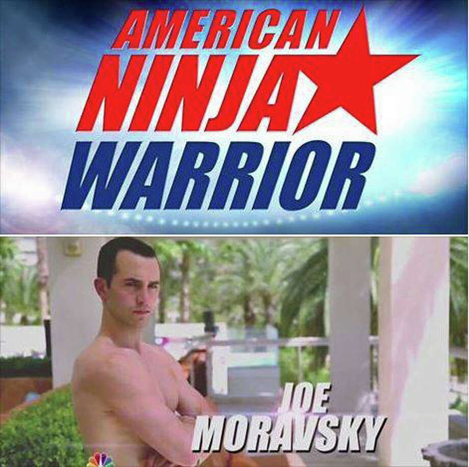 "Joe Moravsky of Sherman is competing on the ""American Ninja Warrior"" television show. He's reached the national finals in Las Vegas. His next TV appearance will be Aug. 11. Photo: Contributed Photo / News-Times Contributed"