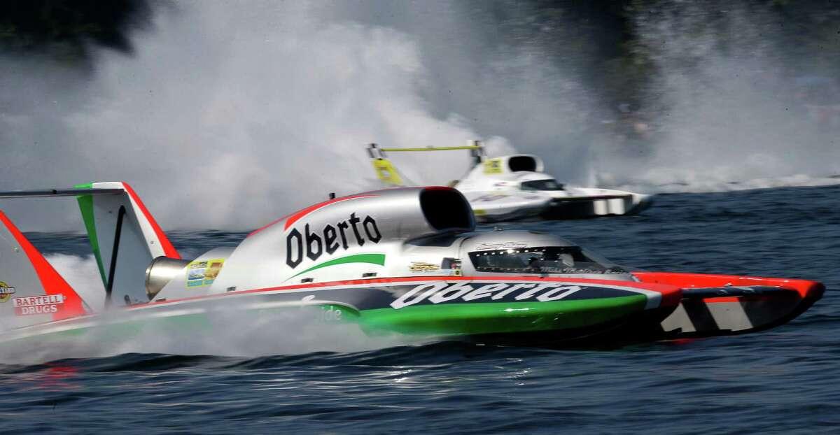 Seafair hydroplane races: Now through Aug. 2