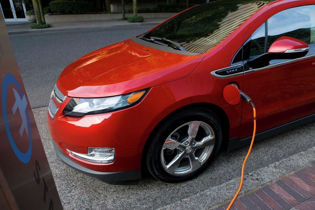 General Motors, maker of the Chevrolet Volt, is one of the companies in a partnership studying future strains on the power grid from electric vehicles.