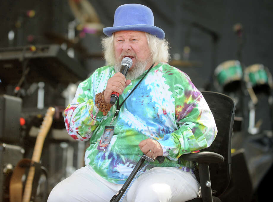 Wavy Gravy at the 19th annual Gathering of the Vibes Musical Festival at Seaside Park in Bridgeport, Conn. on Sunday, August 3, 2014. Photo: Brian A. Pounds / Connecticut Post freelance