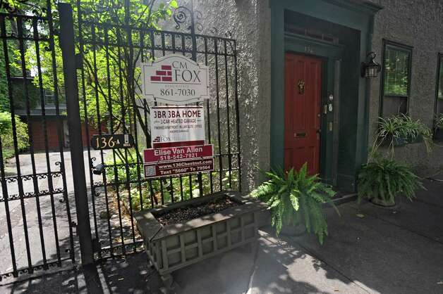House for sale at 136 Chestnut St. listed at $399,000 on Monday, July 28, 2014 in Albany, N.Y. (Lori Van Buren / Times Union) Photo: Lori Van Buren / 00027964A