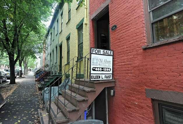 House for sale at 321 Hudson Ave. on Monday, July 28, 2014 in Albany, N.Y. (Lori Van Buren / Times Union) Photo: Lori Van Buren / 00027964A