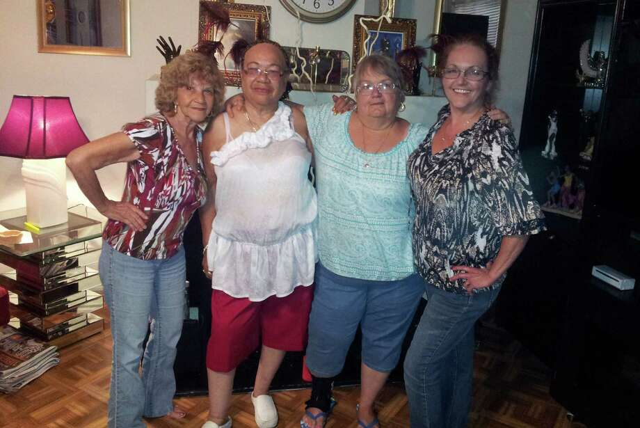 """Sisters Sybil Panko (from left), Verda Byrd of San Antonio, Kathryn Gutierrez Rouillard and Debbie Romero plan to gather again at Christmas in either Florida or Nebraska. """"The first meeting of Daisy's daughters was a success,"""" Byrd says. Photo: Courtesy Photo"""