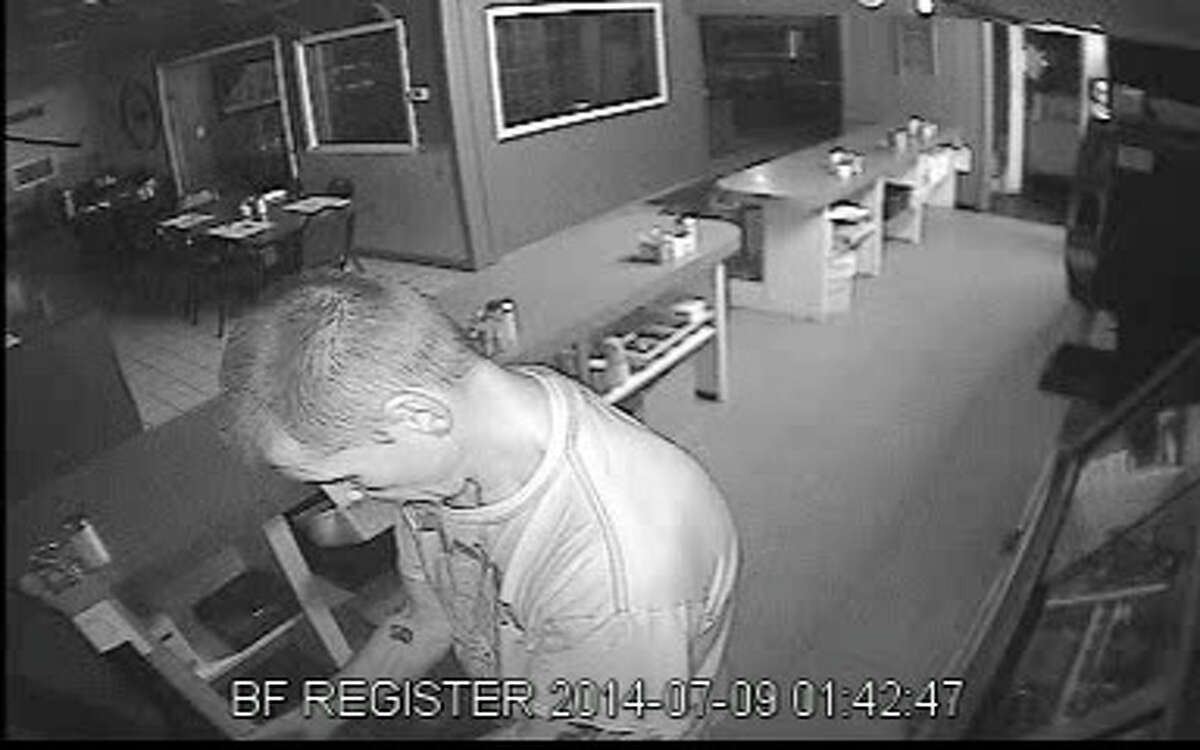 Saratoga County sheriff's deputies are seeking information about a burglary at Snyder's restraurant last month. (Sheriff's department)