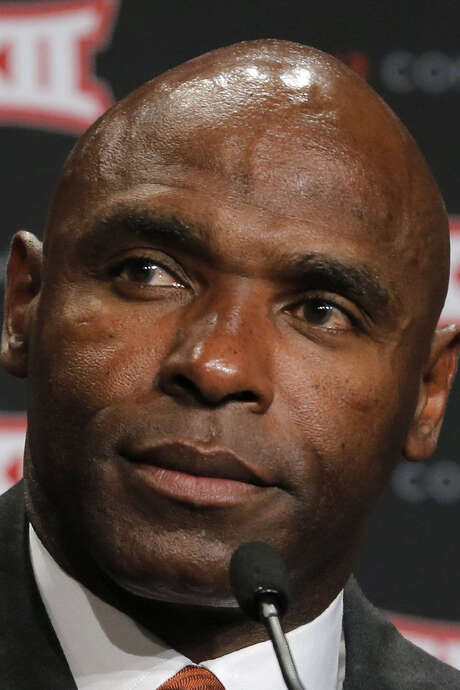 "Charlie Strong has seen a slew of players violate his ""core values."" / Fort Worth Star-Telegram"