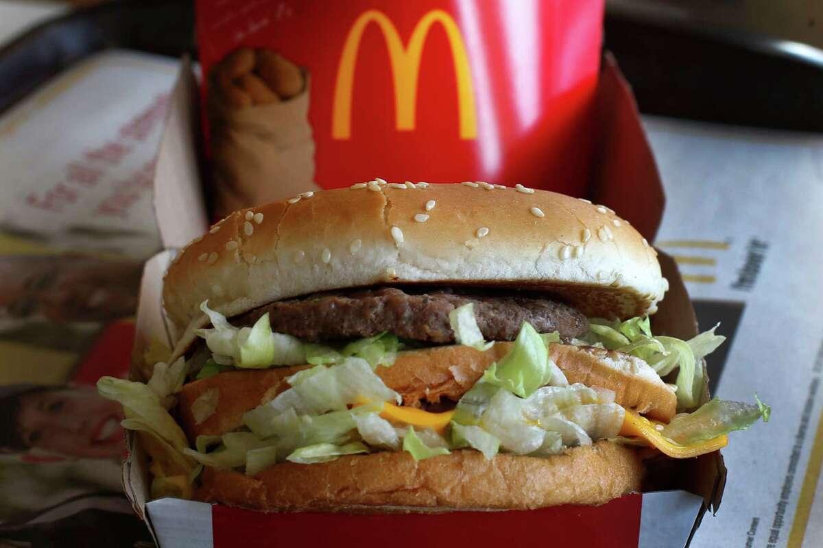 McDonald's Big Mac, 530 calories.