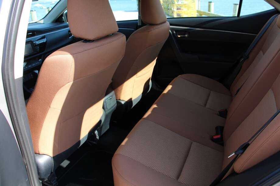 Toyota increased the rear legroom by five inches, which means rear seat passengers can be comfortable back there, even on more than brief trips.