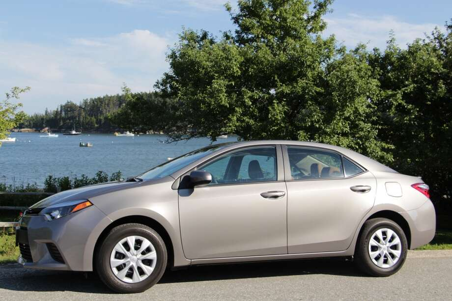 The Toyota Corolla is the best-selling car of all time, with 40 million of them out in the world, many of them still running. This is the 2014 Corolla.  (All photos by Michael Taylor)