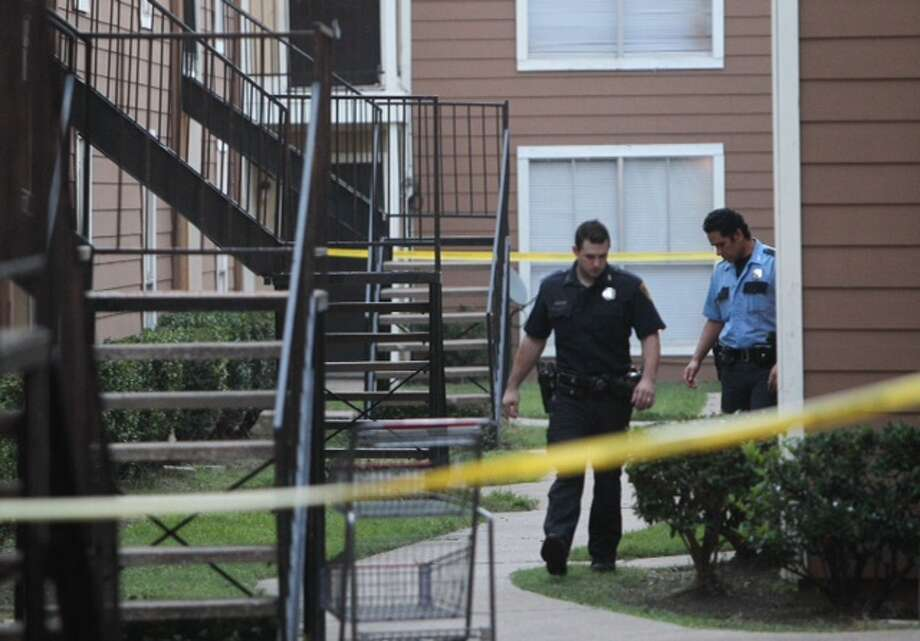 A man was fatally shot during a home invasion early Monday morning at an apartment complex in west Houston.
