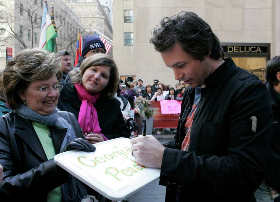 "Former American Idol contestant Michael Johns on NBC News' ""Today"" show on April 15, 2008 Photo: Virginia Sherwood, NBCU Photo Bank Via Getty Images / © NBC Universal, Inc."