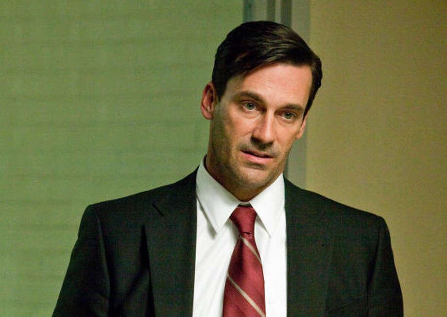 "John HammPortrays ad man Don Draper on AMC's ""Mad Men""Per episode salary:$250,000Source:Time.com Photo: Handout"
