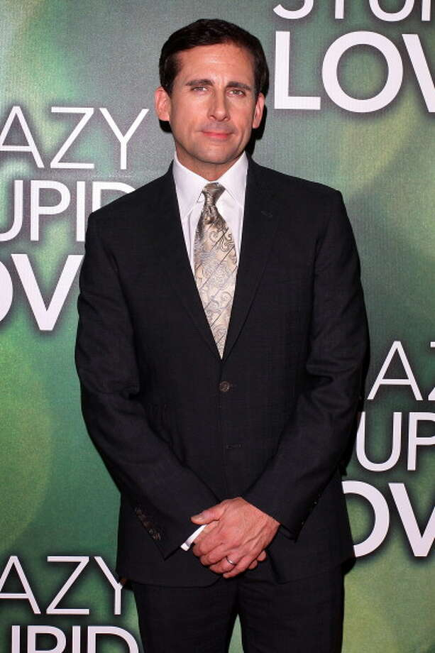 """Steve CarellPortrayed office manager Michael Scott on NBC's """"The Office""""Per episode salary:$297,000Source:Time.com Photo: Lisa Maree Williams, Getty Images / 2011 Getty Images"""