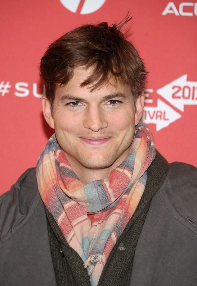 "Ashton Kutcher Portrays Internet billionaire Walden Schmidt on CBS's ""Two and a Half Men"" Per episode salary: $750,000Source: Time.com  Photo: Michael Loccisano, Getty Images"
