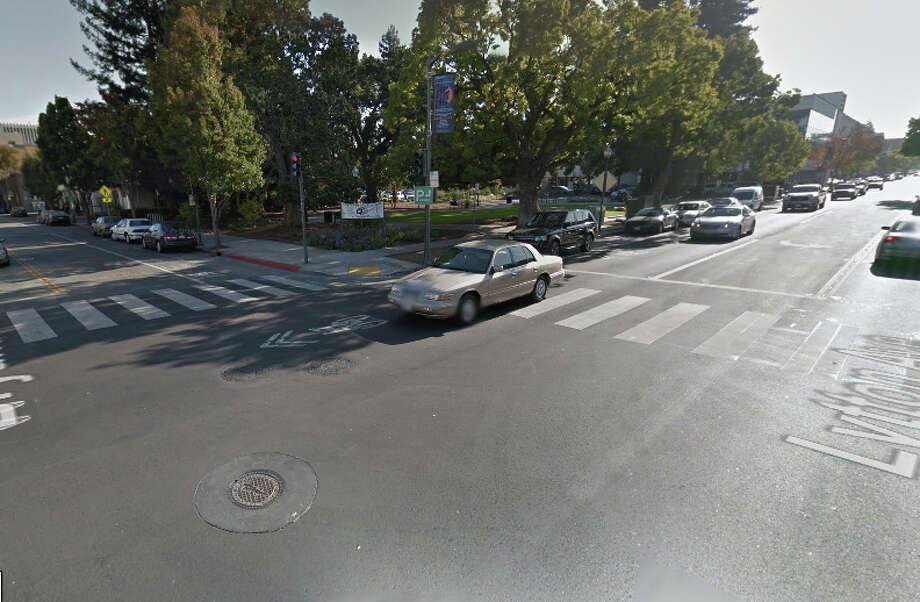 Lytton Avenue and Bryant Street, Palo Alto, CA Photo: Google Maps