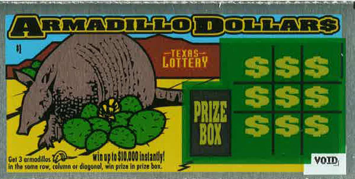 This scratch-off game is among the first ever introduced in Texas.