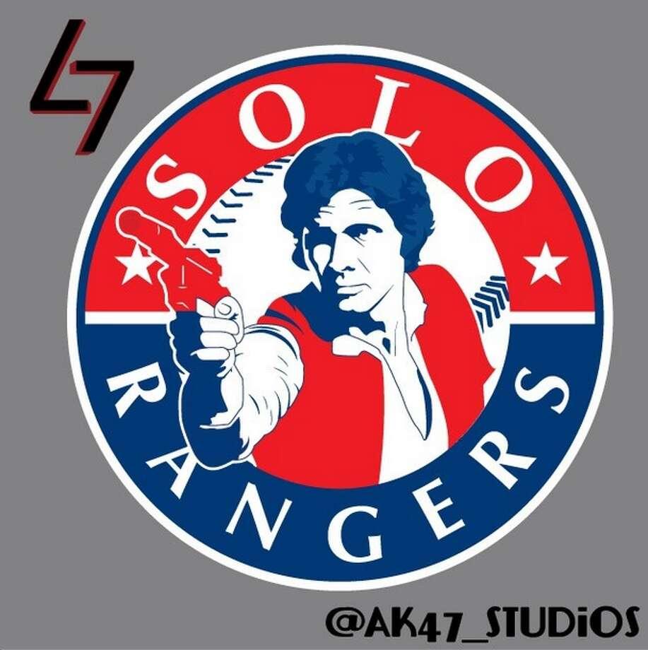 The Texas Rangers and Han Solo Photo: Mark Avery-Kenny, AK47 Studios