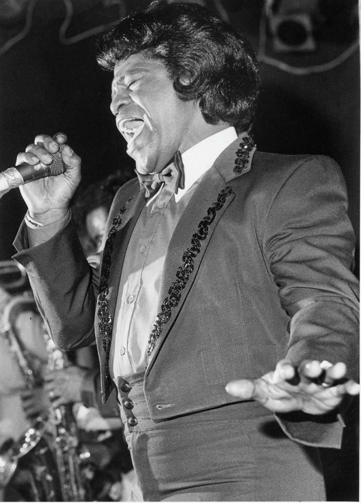 PHOTOS: Fitzgerald's through the yearsJames Brown finds an emotional note during his engagement at Fitzgerald's in 1985. >>See what other big names have played the Houston venue.