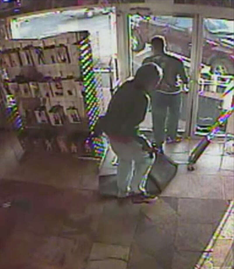 SEX SHOP ROBBERY: Houston police are searching for three suspects who robbed the Katz Boutique adult store at gunpoint at 9820 North Freeway on June 17. RELATED: Sex shop robbed in north Houston Photo: Houston Police Department