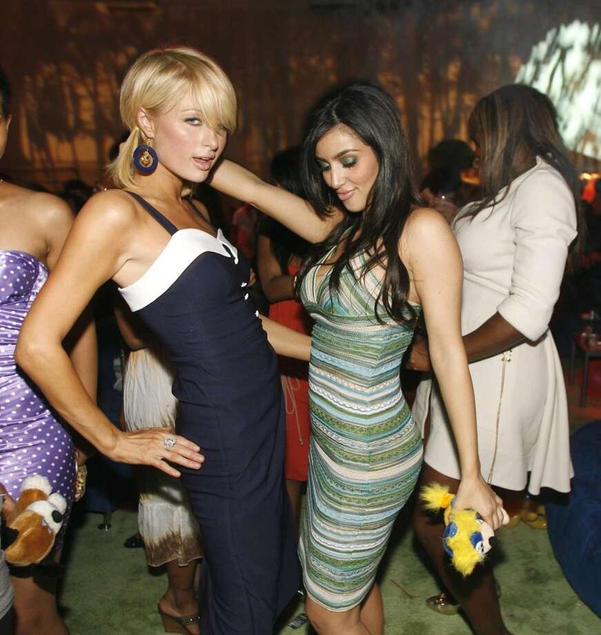 Paris Hilton and Kim Kardashian (Photo by Chris Polk/FilmMagic for Bragman Nyman Cafarelli) Photo: Chris Polk, FilmMagic For Bragman Nyman Cafarelli