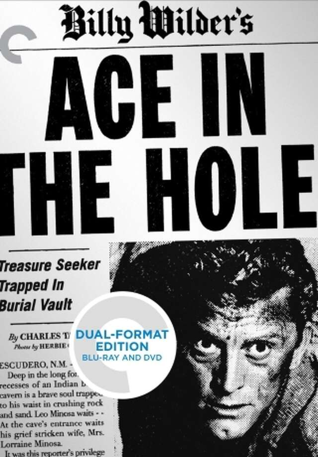 """dvd/blu-ray cover: """"Ace in the Hole"""" Photo: Criterion Collection / Criterion Collection / ONLINE_YES"""