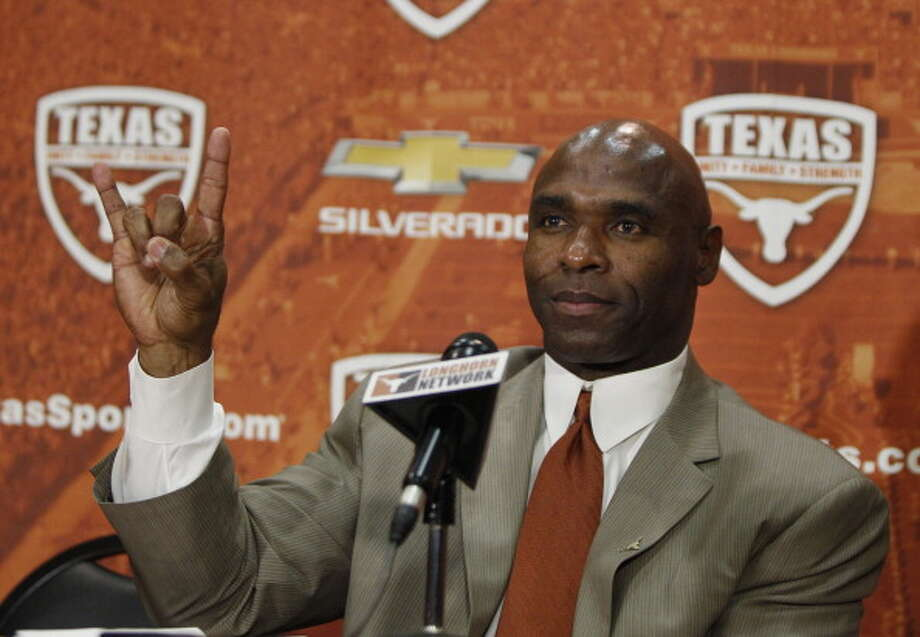 After a disappointing 8-5 season, Texas will try to regain Big 12 confidence with new head coach Charlie Strong leading the program. Here is the Longhorn's 12-game schedule for the regular season. Photo: Erich Schlegel, Getty Images / 2014 Getty Images