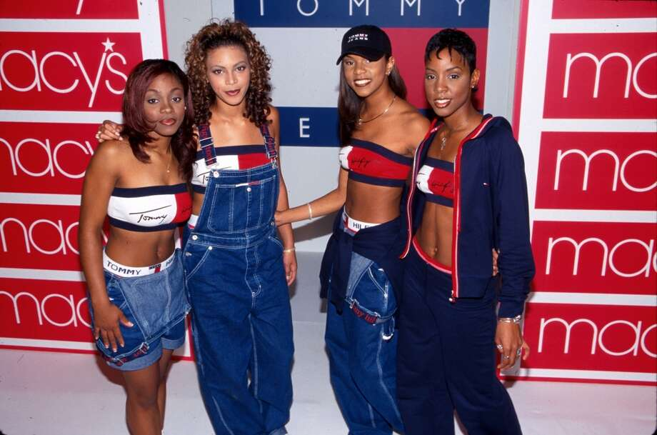 1998:Oh the '90s. We wish we didn;t remember this. Destiny's Child promotes Tommy Hilfiger Jeans.  (Photo by Marion Curtis/DMI/The LIFE Picture Collection/Getty Images) Photo: Marion Curtis, The LIFE Picture Collection/Gett