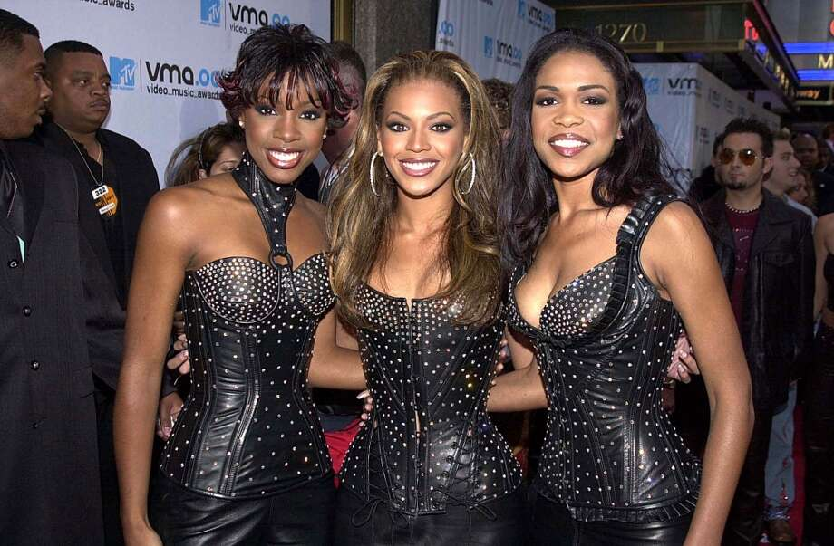 2000:Beyonce's final formation with Beyonce in the center of it all. (Photo by Jeff Kravitz/FilmMagic, Inc) Photo: Jeff Kravitz, FilmMagic,  Inc