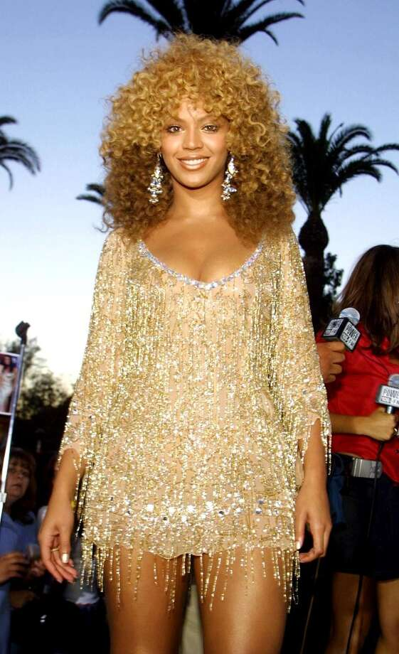 "2002:Beyonce is a movie star when ""Austin Powers in Goldmember"" opens at Universal City July 22, 2002. AFP PHOTO/Lee CELANO (Photo credit should read LEE CELANO/AFP/Getty Images) Photo: LEE CELANO, AFP/Getty Images"