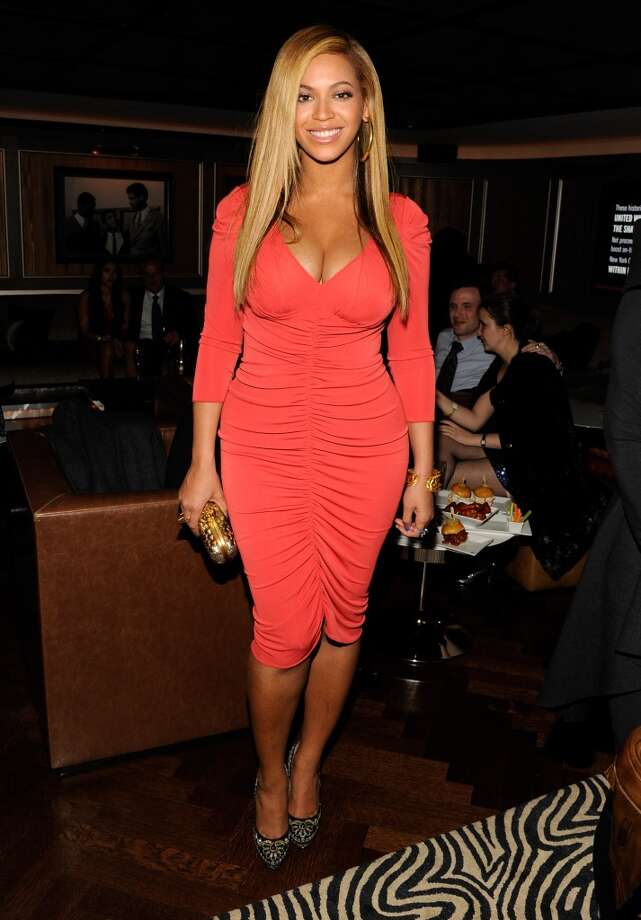 2012:Just a month after giving birth to daughter Ivy Blue, new mommy Beyonce wows in this number at the afterparty for Jay-Z's concert at Carnegie Hall to benefit the United Way of New York City and the Shawn Carter Foundation at the 40 / 40 Club on Feb. 6, 2012, in New York City.  (Photo by Kevin Mazur/Getty Images) Photo: Kevin Mazur, Getty Images