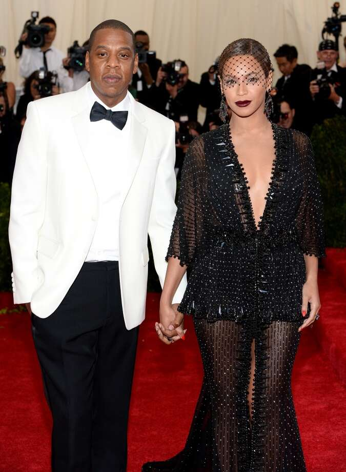 "2014: Jay Z and Beyonce look crazy in love at the ""Charles James: Beyond Fashion"" Costume Institute Gala at the Metropolitan Museum of Art on May 5, 2014, in New York City.  (Photo by Dimitrios Kambouris/Getty Images) Photo: Dimitrios Kambouris, Getty Images"