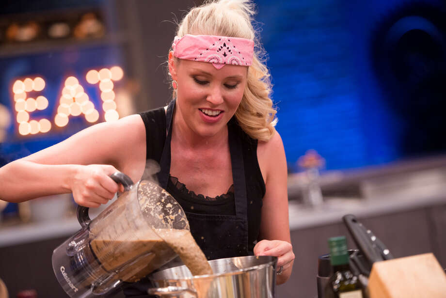 """30 seconds was all it took to dash 30-year old Sarah Penrod's hope of small screen stardom. The League City chef was one of four finalists battling for the coveted spot on 'Next Food Network Star,' but she didn't make it due to her so-called """"inauthentic"""" 30-second pitch for her would-be TV series. Photo: Food Network / © 2014, Television Food Network, G.P. All Rights Reserved."""