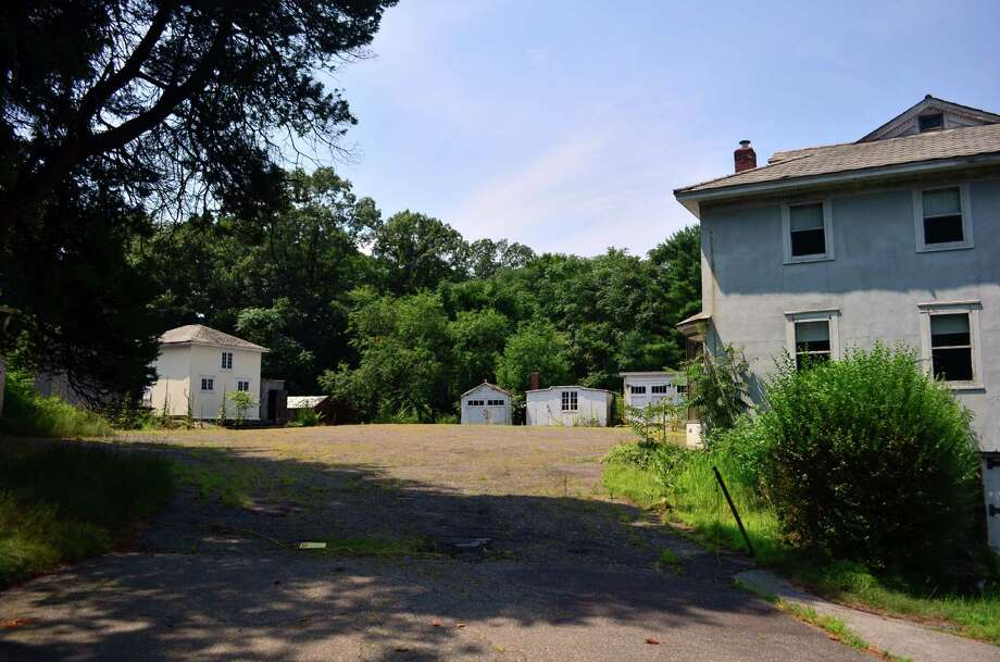 "Penny Glassmeyer is proposing to building housing for ""empty nesters"" at 40 Locust Hill, the former site of the Knobel Brothers Hardware Store. Photo: Megan Spicer / Darien News"