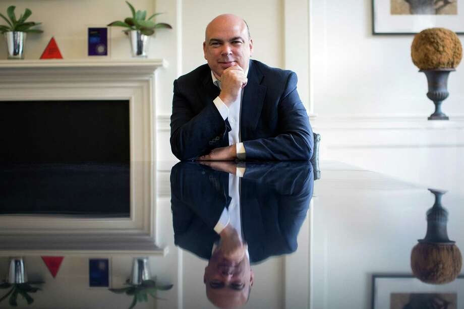Mike Lynch, former CEO of Autonomy, says the decision by the British fraud agency validates his insistance that Autonomy did nothing wrong. Photo: Simon Dawson / Bloomberg / © 2014 Bloomberg Finance LP.