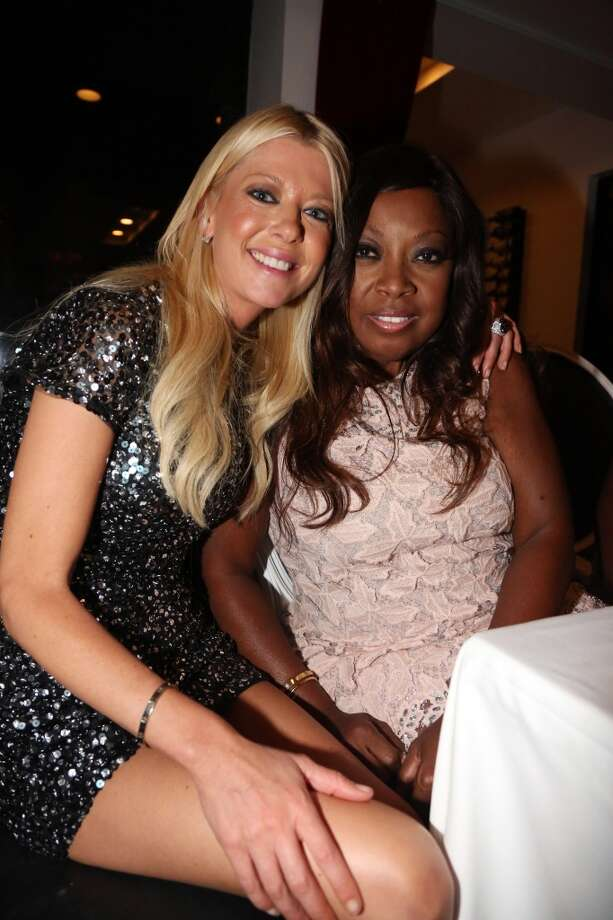 (L-R) Actress Tara Reid and TV personality Star Jones attend the Vivica A. Fox 50th birthday celebration at Mr. Chow on August 2, 2014 in Los Angeles, California. Photo: Johnny Nunez, WireImage