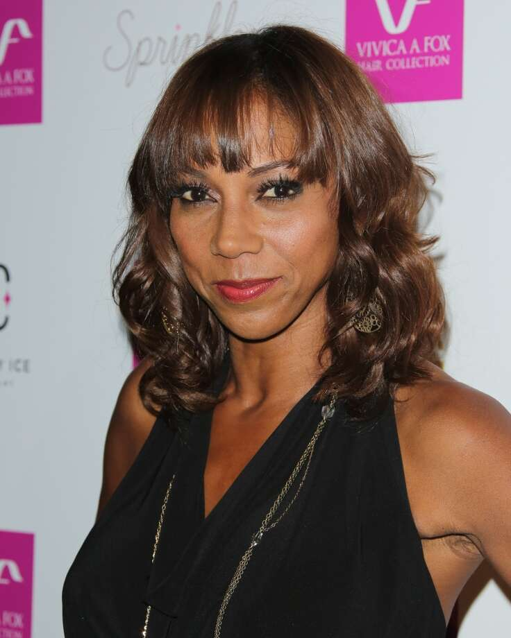 Actress Holly Robinson Peete attends Vivica A. Fox's 50th birthday celebration at Philippe Chow on August 2, 2014 in Beverly Hills, California. Photo: Paul Archuleta, FilmMagic