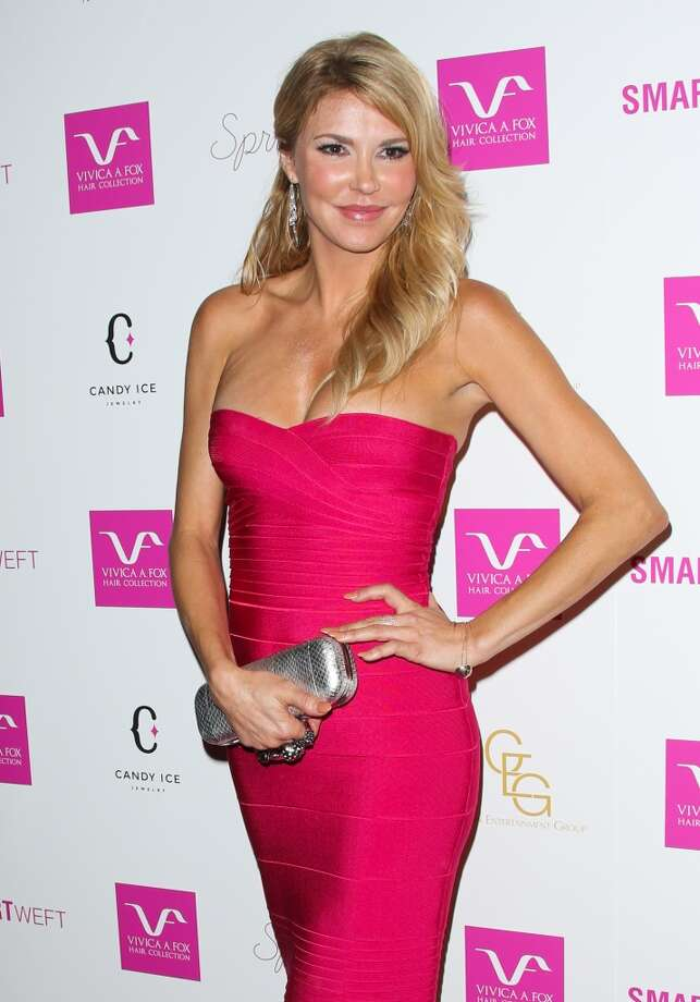 Reality TV personality Brandi Glanville attends Vivica A. Fox's 50th birthday celebration at Philippe Chow on August 2, 2014 in Beverly Hills, California. Photo: Paul Archuleta, FilmMagic