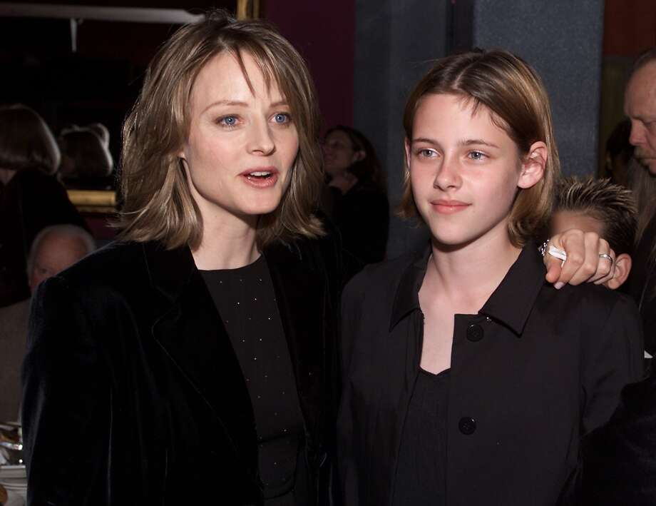 Kristen Stewart'sbreakout role was as a diabetic tomboy in 2002's thriller 'Panic Room.' She was nominated for a Young Artist Award. She's seen here with co-star Jodie Foster.