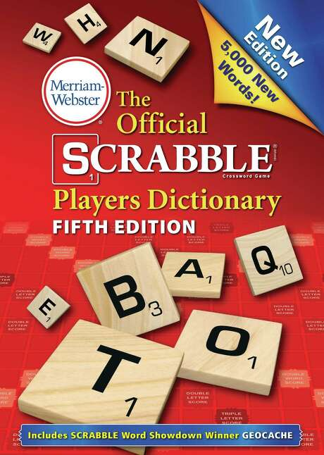 """""""The Official Scrabble Players Dictionary: Fifth Edition,"""" released Aug. 11 from Merriam-Webster, includes  5,000 new words. (AP Photo/Merriam-Webster) Photo: HONS / Merriam-Webster"""