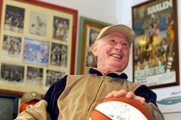 Red Klotz, the coach of the Globetrotters' opponent, the Washington Generals, died last month at 93.