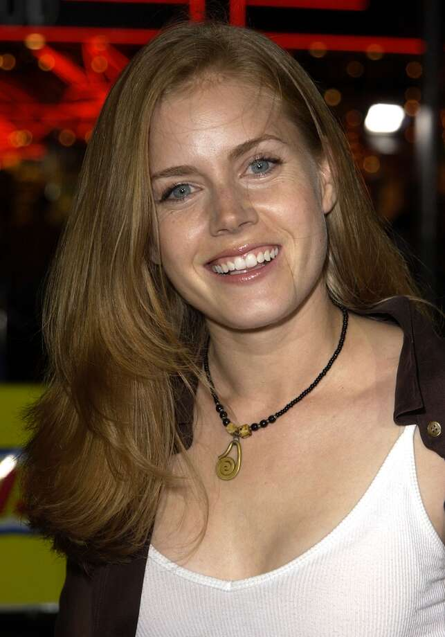 Amy Adams, pictured here in 2002, make her acting debut in the cult classic film 'Drop Dead Gorgeous.'