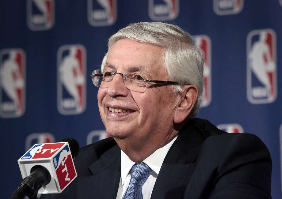 David Stern will be inducted into the Naismith Memorial Basketball Hall of Fame in the 2014 class. Photo: Bebeto Matthews, Associated Press