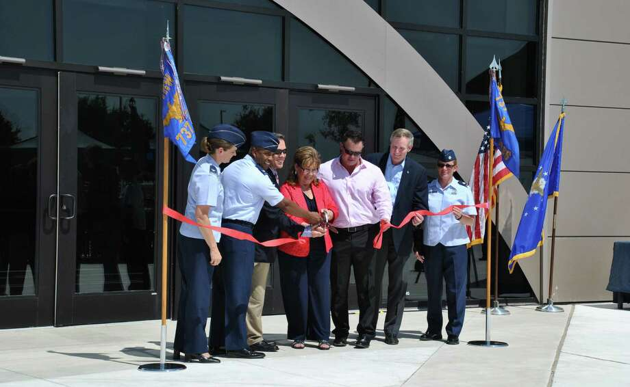 The new Recruit/Family In-processing and Information Center at Joint Base San Antonio-Lackland was dedicated July 30. Photo: U.S. Air Force