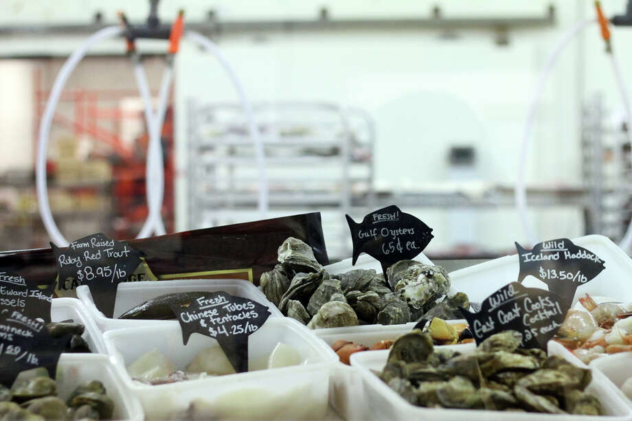 Groomer Seafood, a supplier in San Antonio, is still selling Gulf Coast oysters, but the price has increased considerably. Photo: Bria Webb, For The Express-News / San Antonio Express-News