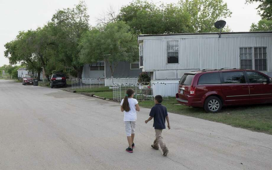 Mission Trails Mobile Home Community residents have until January to move out following the July 25 sale of the property. Photo: Darren Abate / For The San Antonio Express-News