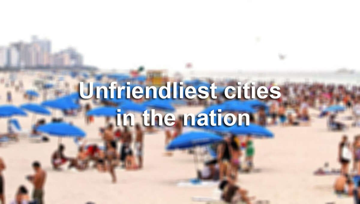 The publication Condé Nast Traveler released the results of its latest Readers' Choice Survey in which two Texas cities, Fort Worth and San Antonio, rank among the friendliest in the country.Click through the slideshow to see the 2014 Unfriendliest Cities in the U.S., followed by the Friendliest Cities in the U.S.