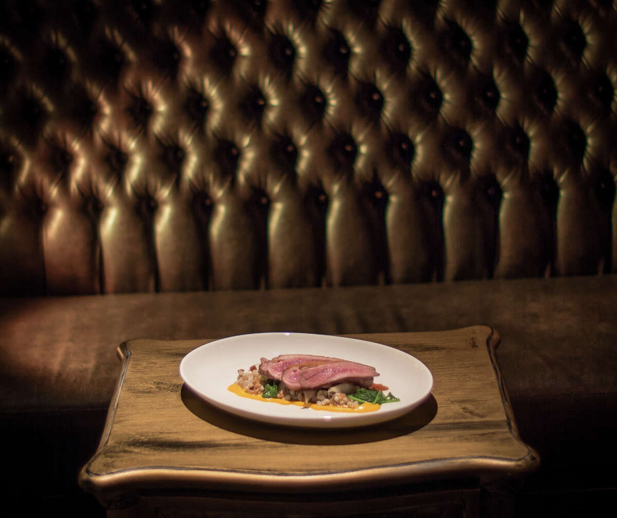The duck breast at Gaspar in San Francisco.